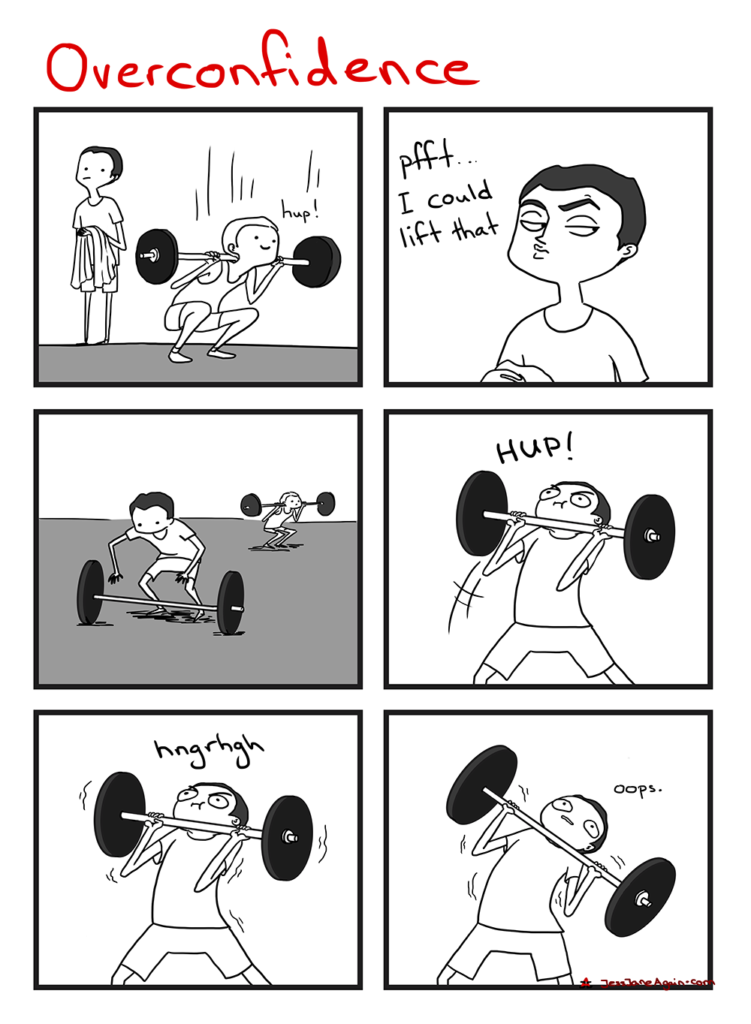 overconfidence at the gym