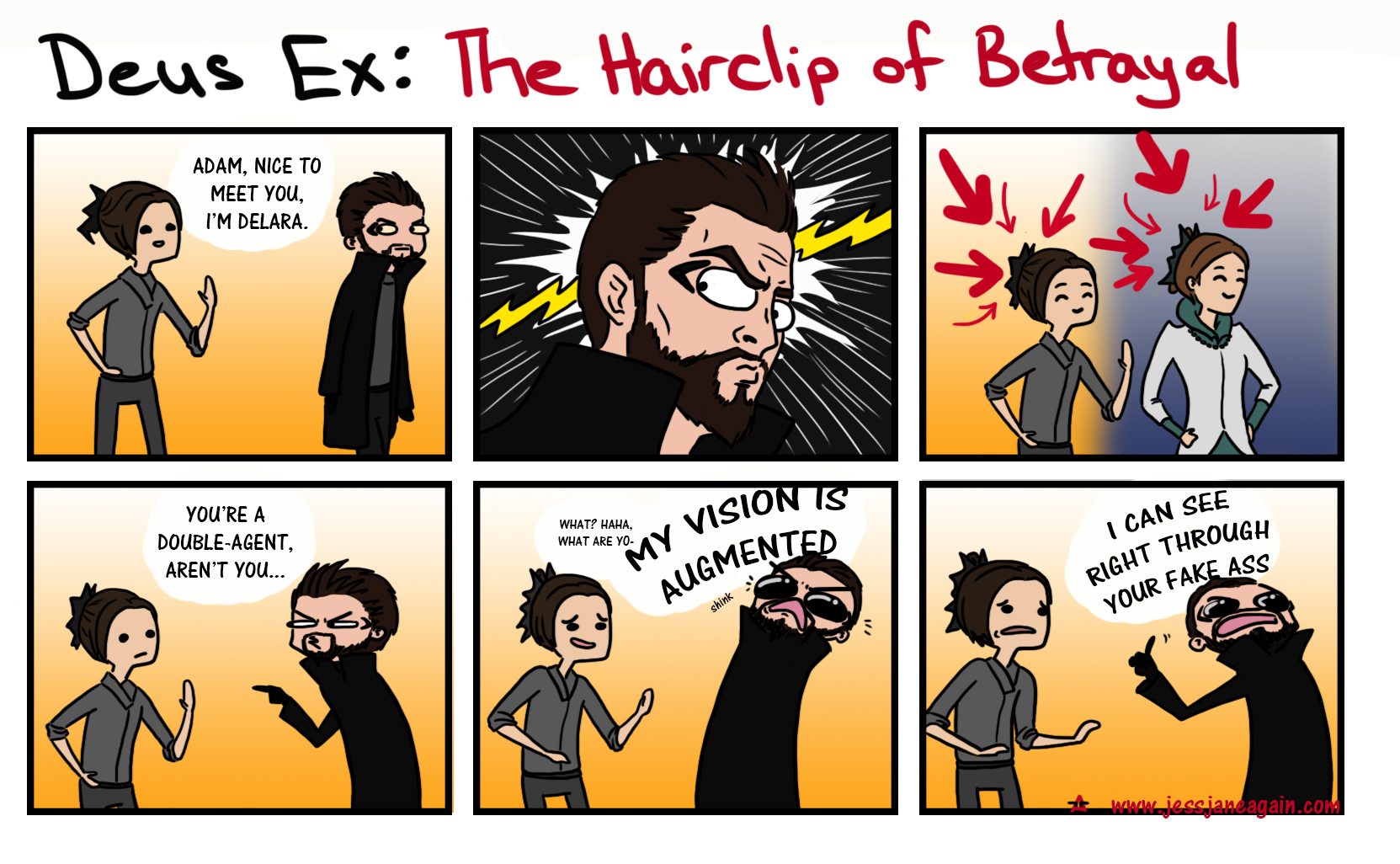 deus ex: hairclip of betrayal