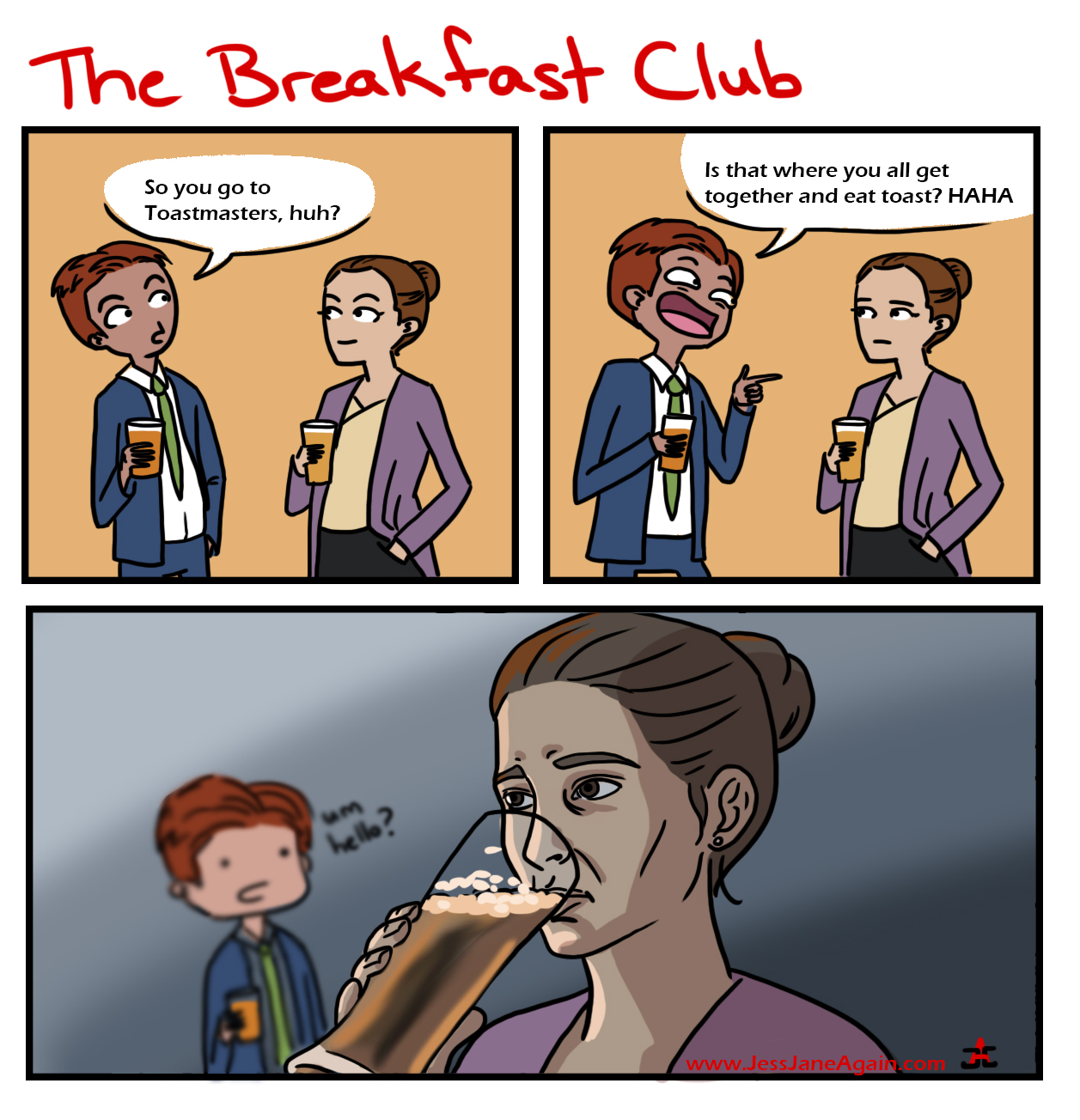 Toastmasters the breakfast club